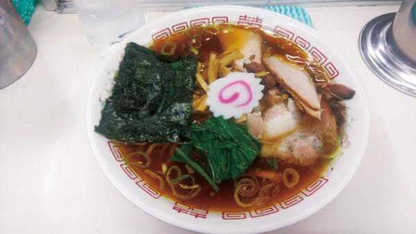 青島食堂 青島ラーメン 720円