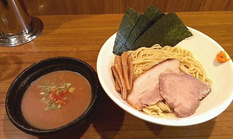 旬風_つけ麺(醤油) 750円