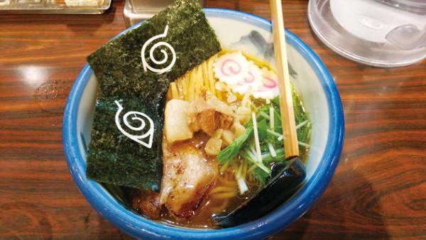 AFURI 特製一楽柚子醤油ラーメン 1,000円