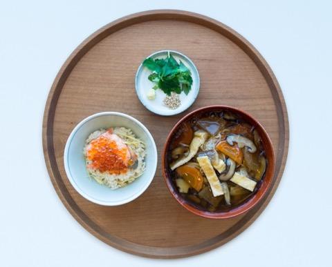 宮城定食「手延白石温麺」