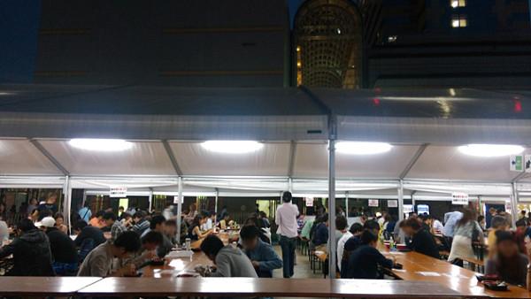 大つけ麺博_飲食スペース