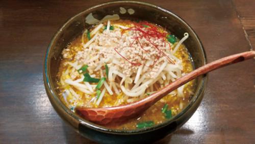 担担麺 手しごと ごま金 坦々麺 800円