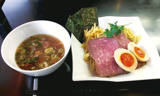 贅沢焼牛つけ麺 1050円