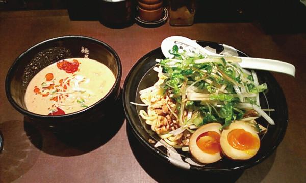 麺屋 武蔵 冷ごまつけ麺 810円