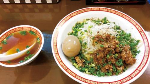 ゴマ哲 汁なし坦々麺 840円