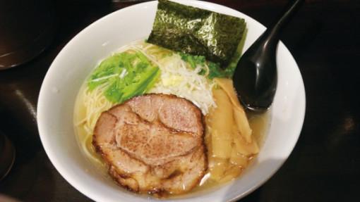 ほうきぼし+ 塩ソバ 750円